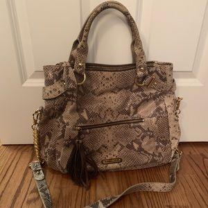 Cynthia Rowley Snakeskin Bag